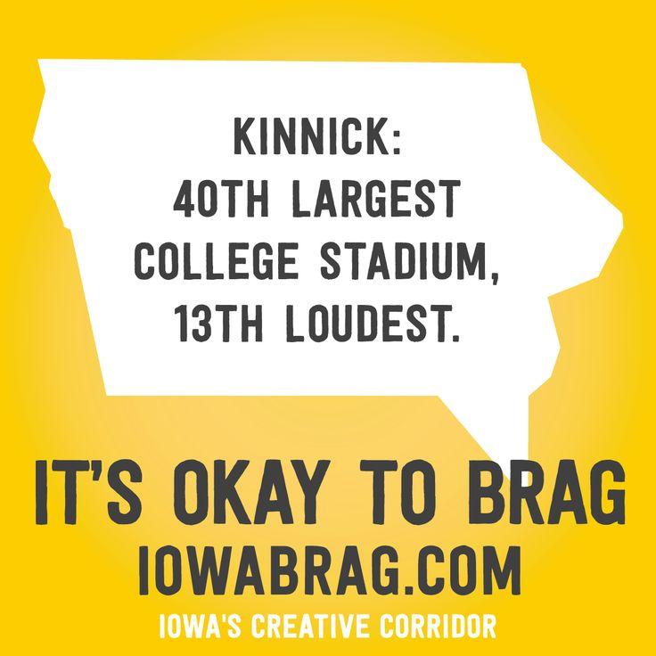 Iowa Brag: Kinnick loud and proud