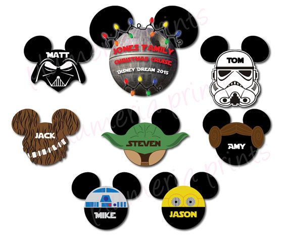 Star Wars Death Star Family Christmas Cruise by plumeriaprints Just ordered these...so excited!! Update: these came out perfectly! Highly recommend this seller on Etsy ❤️