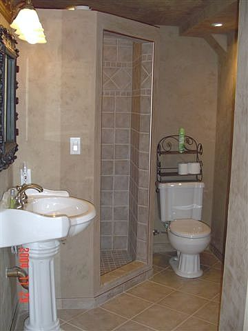 19 best basement bathroom images on pinterest bathroom home ideas and half bathrooms Small bathroom design help
