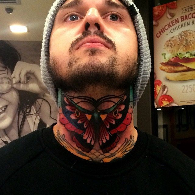 Butterfly Neck Tattoo: 32 Best Old School Images On Pinterest