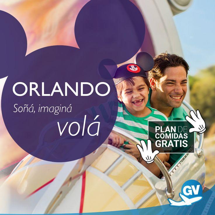 Si estás pensando en Disney, este es tu momento! Aprovechá la promoción Plan de comidas gratis!