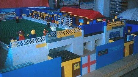 Lego version of Canvey Island FC by Jason Dorrington