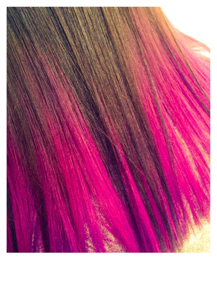 Colored Bleech in one application