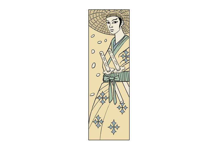 Segnalibro Samurai!