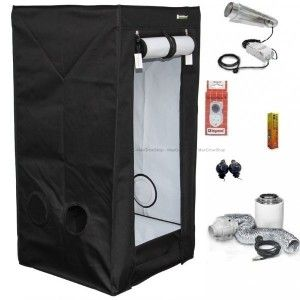 HOMEbox® Evolution Q60. Kit, HPS 250w Cooltube #Gardening