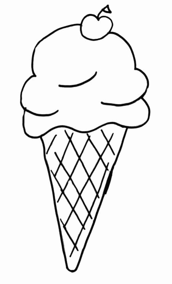 28 Icecream Cone Coloring Page In 2020 Ice Cream Coloring Pages