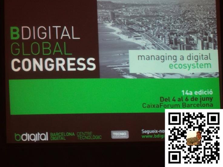 BDigital Global Congress de Barcelona en Junio 2012
