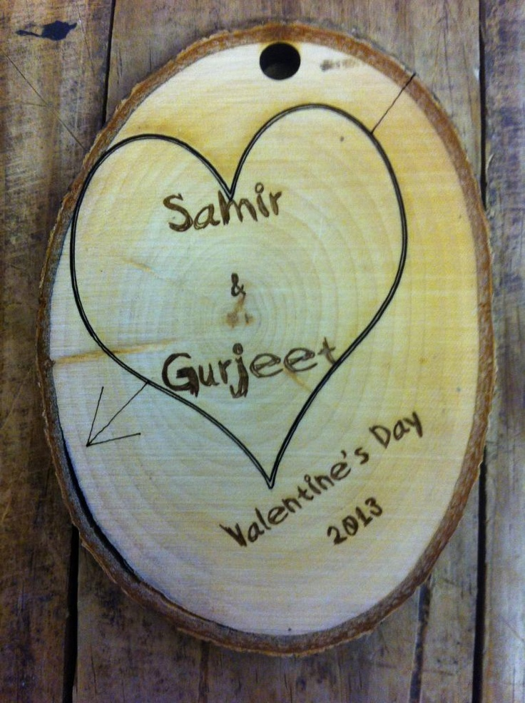 Personalised Wood Love!...