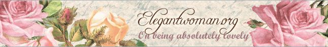 Love this! great blog on Etiquette and classy women..something our society needs more of..
