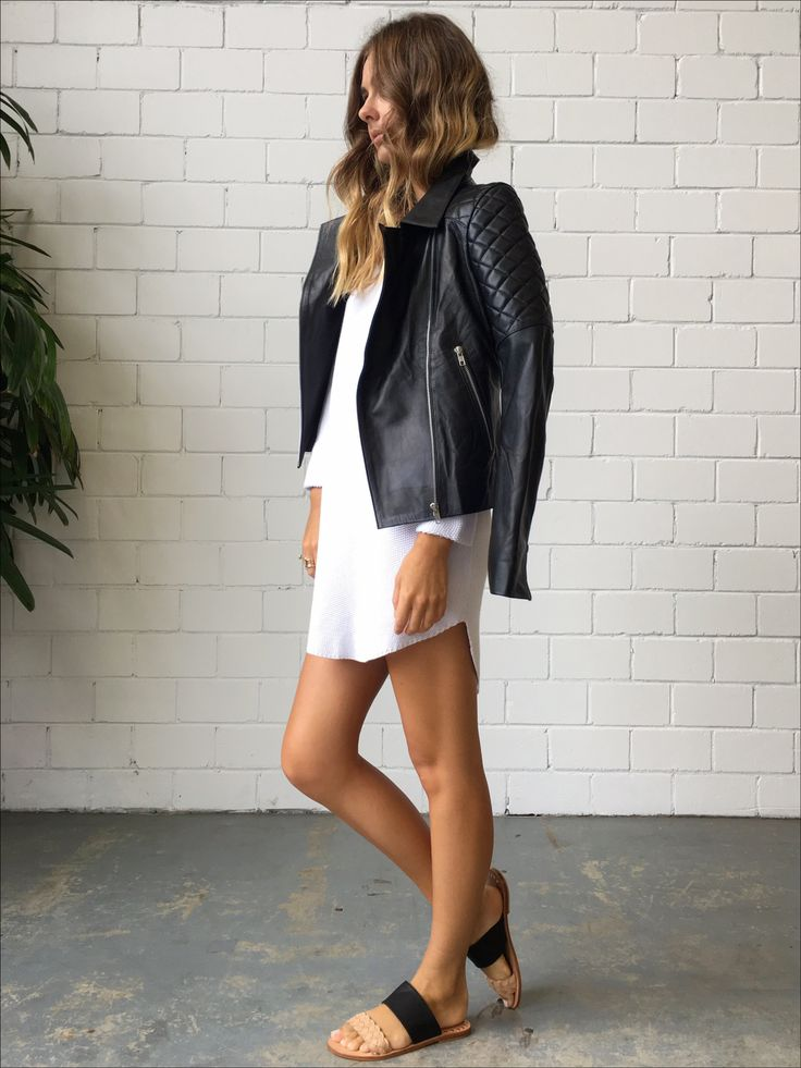 Splice X Splice Boutique The Harley Quilted Leather Jacket || Splice Boutique