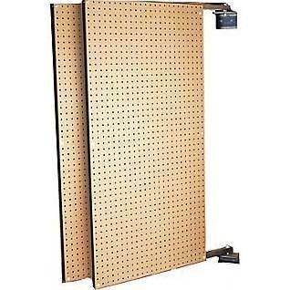 XtraWall B1-2 (2) 24 In. W x 48 In. H x 1-1/2 In. D Wall Mount Double-Sided Swing Panel Pegboard