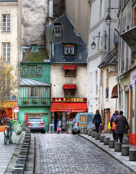 La Friterie, Paris, France    http://bluepueblo.tumblr.com/post/24842856698/la-friterie-paris-france-photo-via-diwi