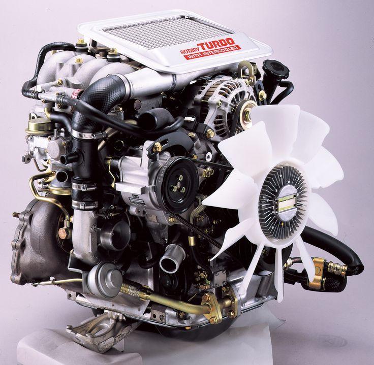 Rx7 Engine Used: 1988年 13B ロータリーエンジン / 13B Rotary Engine