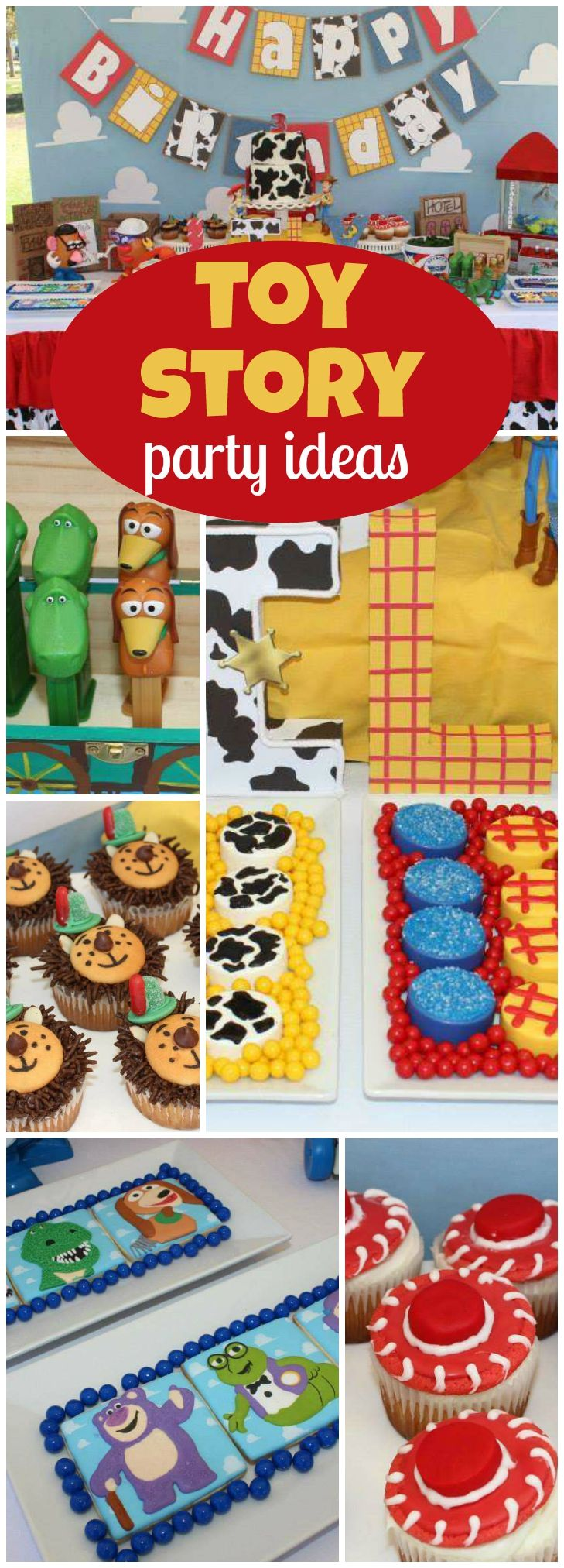 Toy story party ideas birthday in a box - Toy Story Birthday Toy Story 3rd Birthday Party