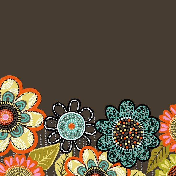 Dress Your Tech: Flower Shower Tablet Wallpaper