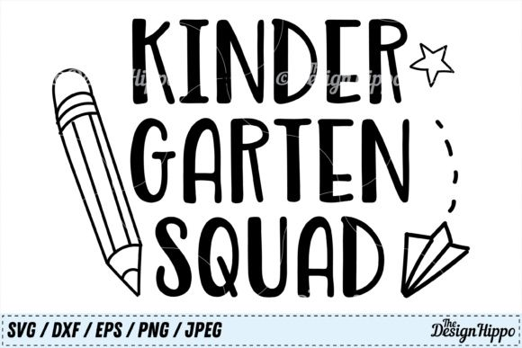 21+ Kindergarten Svg, Kinder Here I Come, First Day Of Kindergarten, Svg-Dxf-Png-Eps, Cutting File, Printing File, Silhouette Cameo, Cricut. SVG