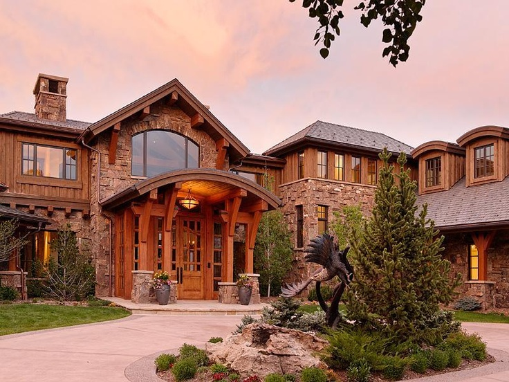 83 best images about most expensive property for sale in for Extravagant log homes