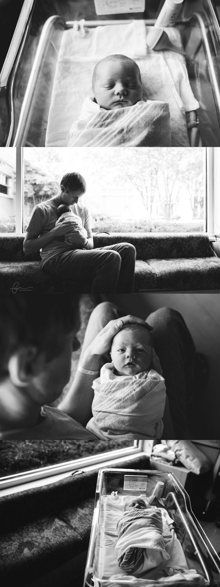 Hospital newborn photography | Fresh 48 session | Northern Virginia hospital newborn photographer | Four Wishes Photography