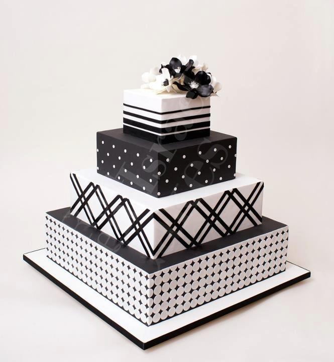 Image Of Cake Black And White