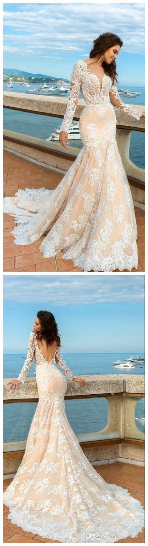 Mermaid Wedding Dress,custom Lace Wedding Dresses