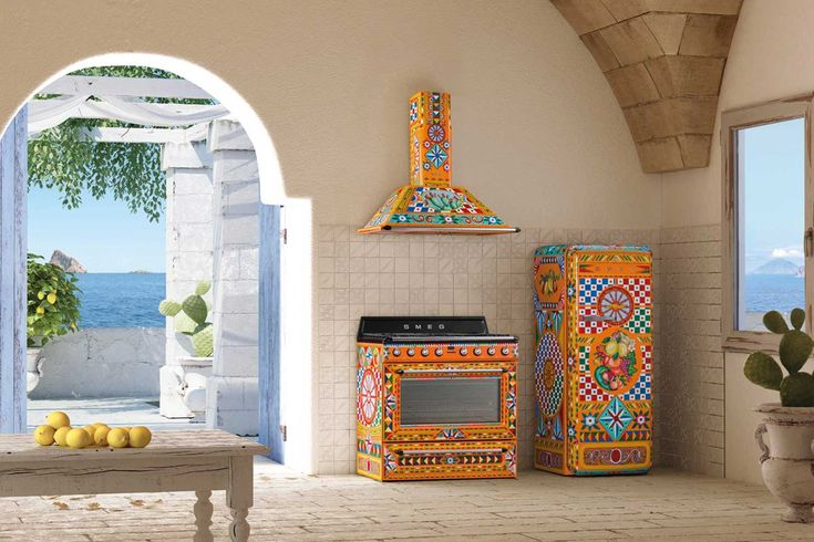 Smeg x Dolce Gabbana just brought more drama to your kitchen