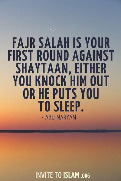 """"""".Assalaatu Khairum-minan-Naum"""" Salah is better than sleep."""