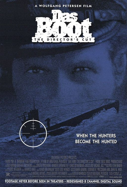 """One of my father's favorite films of all time : Das Boot (1981) 