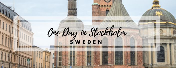 Learn how to make the most of one day in Stockholm, Sweden. Nature, Culture, Shopping - Stockholm has it all! We're Mihir and Jacky. Let's stay in touch!