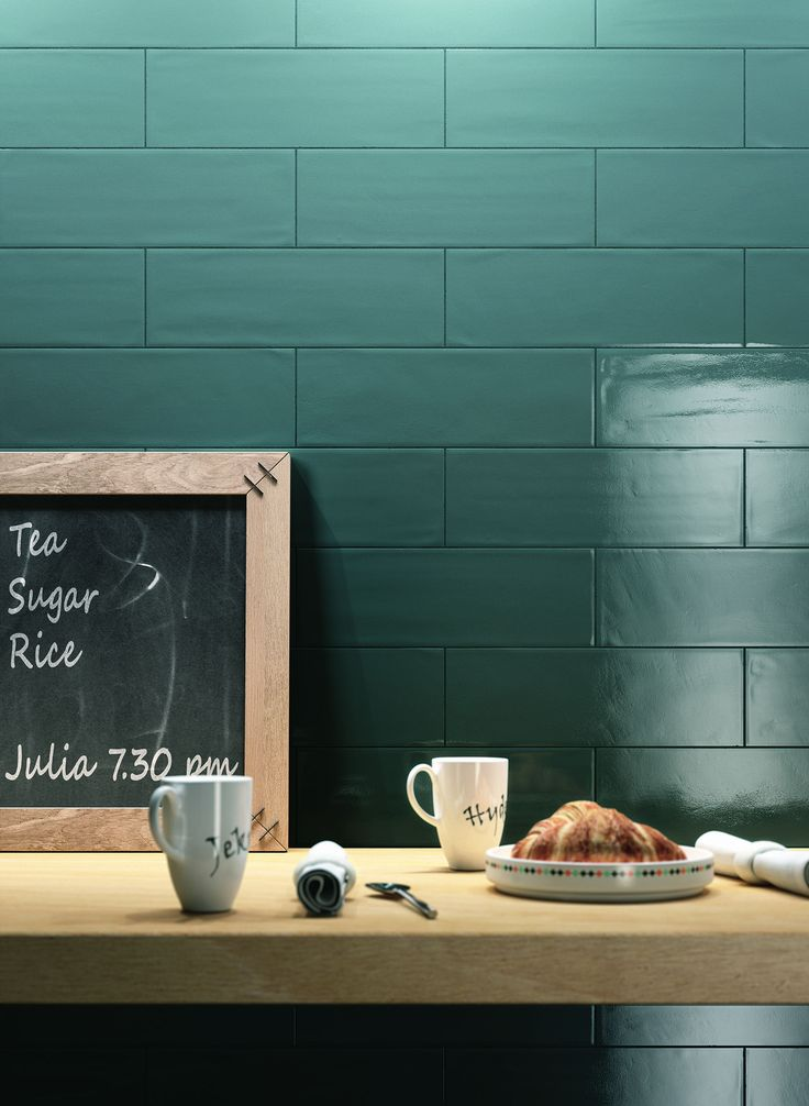 Trendy and contemporary retro, #Brick #Glossy - by #RAGNO - recontextualized the traditional ceramic tile format in an urban contest