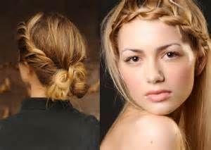 model rambut kepang samping