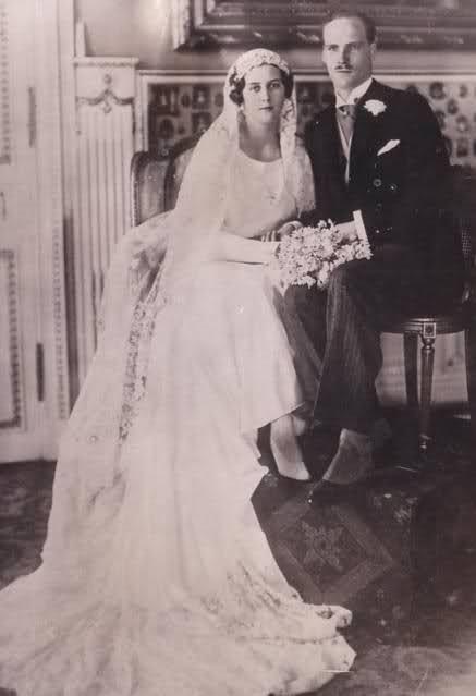 Georg Donatus d'Assia-Darmstadt e Cecilia di Grecia. Febbraio 2, 1931
