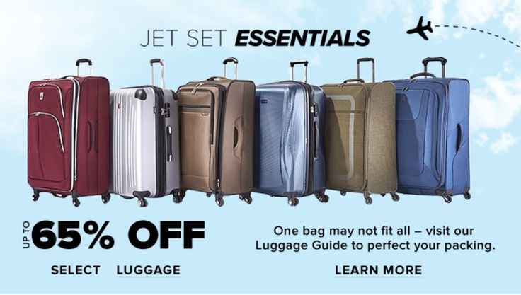 Hudsons Bay Canada Sale: save 65% off Select Luggage https://www.lavahotdeals.com/ca/cheap/hudsons-bay-canada-sale-save-65-select-luggage/310808?utm_source=pinterest&utm_medium=rss&utm_campaign=at_lavahotdeals&utm_term=hottest_12
