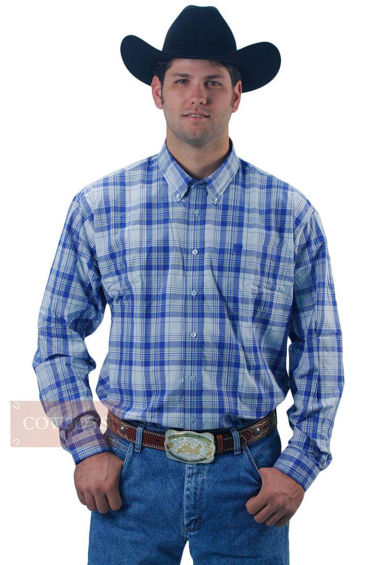 Camisa Cinch Masculina Manga Longa Xadrez Azul com Amarelo    camisa masculina manga longa nas cores azul e amarela. Elegância, sofisticação e modernidade ao cowboy. Tecido 100% algodão importado e de alta qualidade. Muito indicado para os amantes do estilo country. As mais diversas variedades em camisa importada cinch, você escolhe aqui nas Lojas Cowboys.