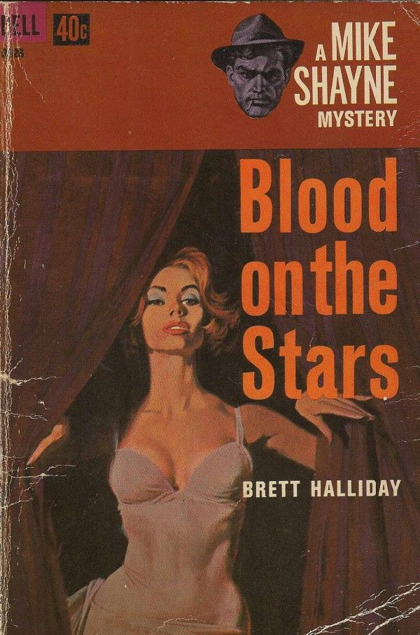 40 best brett halliday images on pinterest pulp art book covers blood on the stars robert mcginnis cover art fandeluxe Image collections