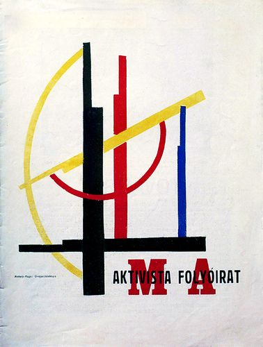 Magazine cover by Moholy Nagy 1922  http://www.flickr.com/photos/20745656@N00/1367143462/in/photostream/