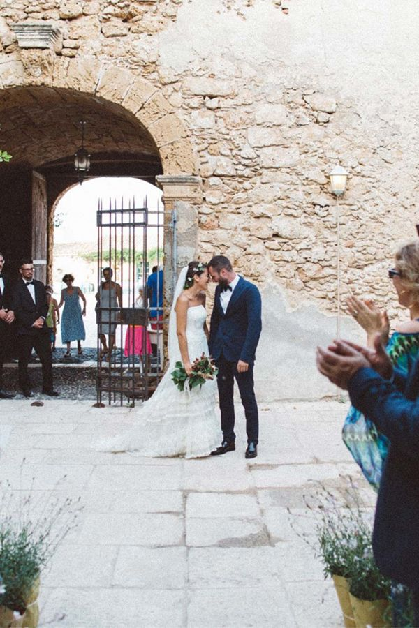 Modern Meets Seaside Heritage In This Simple Italian Wedding Taking Place An Old Tuna Factory Turned Venue Sicily
