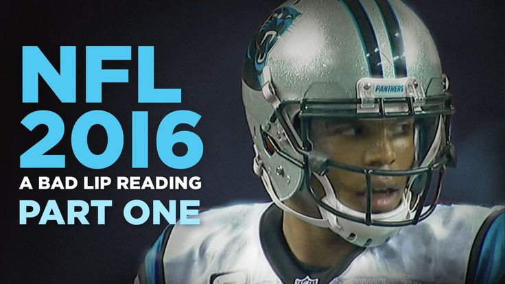 """""""NFL 2016: Part One"""" — A Bad Lip Reading of the NFL - YouTube So reminds me of Mystery Science Theater"""