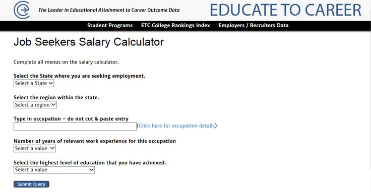 Living Wage Calculator - Introduction to the living wage model - salary calculator