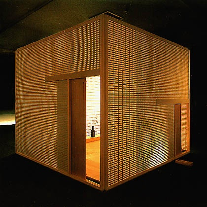 Souan 「想庵」 Contemporary japanese tea ceremony room designed by Shigeru Uchida