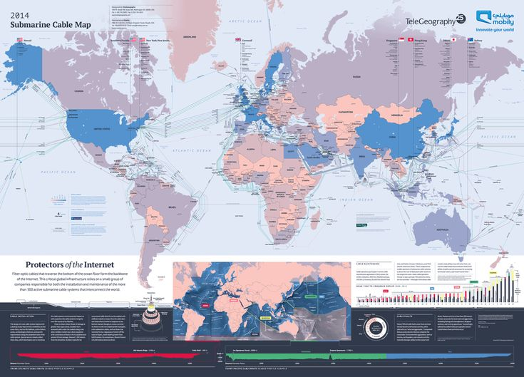 2014 Submarine Cable Map
