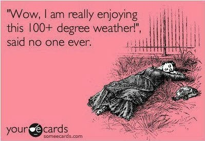 So True!  Oh my it is soooo HOT!