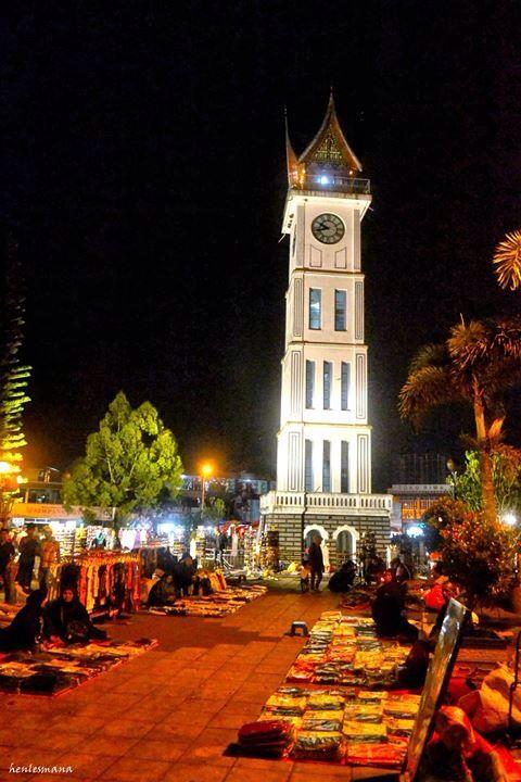 Jam Gadang at Bukittinggi, West Sumatra, Indonesia