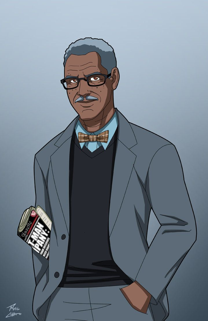 Lucius Fox commission by phil-cho on DeviantArt