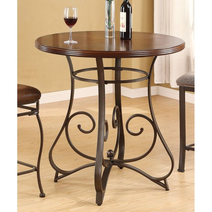 Topeakmart Round Pub Table Bar Height Chairs Height: 17+ Best Ideas About Round Bar Table On Pinterest