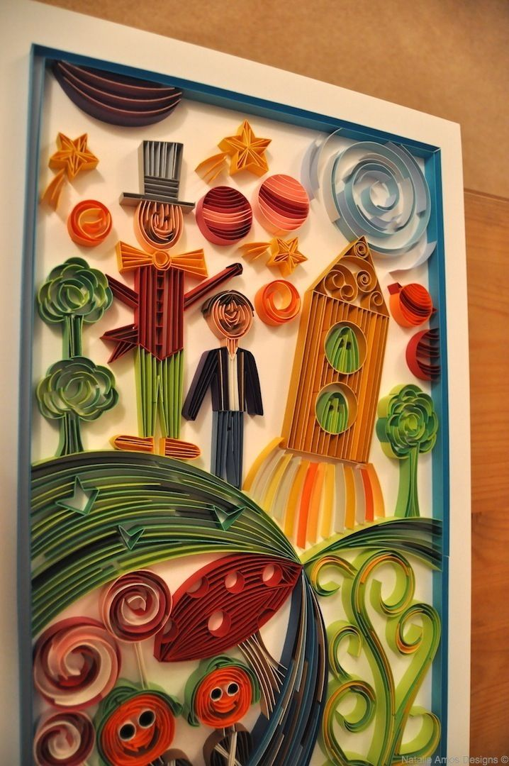 Natalie Amos Designs   Card Quilling