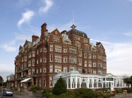 The Grand Hotel Including Surrounding Wall - Folkestone - Kent - England