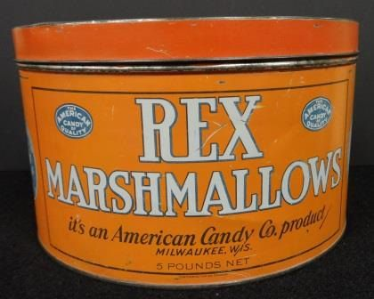 Rex Marshmallow Orange Country Store Pantry by TimberRidgeAntiques