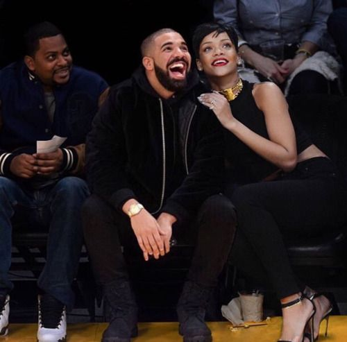 Drake and Rihanna Its a good edit....lol