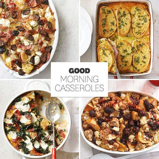 No pancakes allowed! Treat your holiday house guests to these make-ahead casseroles and enjoy a leisurely homemade brunch! http://www.bhg.com/recipes/from-better-homes-and-gardens/december-2014-recipes/?socsrc=bhgpin122514goodmorningcasseroles&page=24