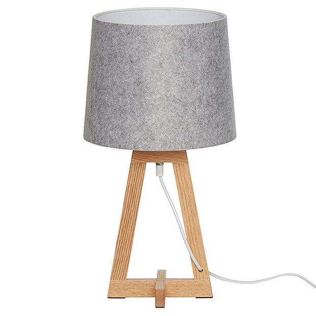 Oslo Table Lamp with Felt Shade